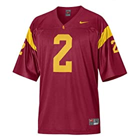 Nike Red Replica #2 USC Trojans Football Jersey