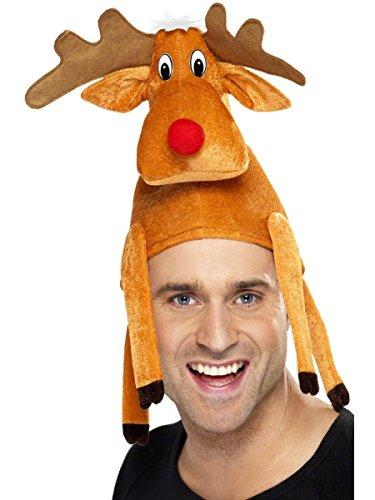 Sombrero de Reno Navidad para Adultos