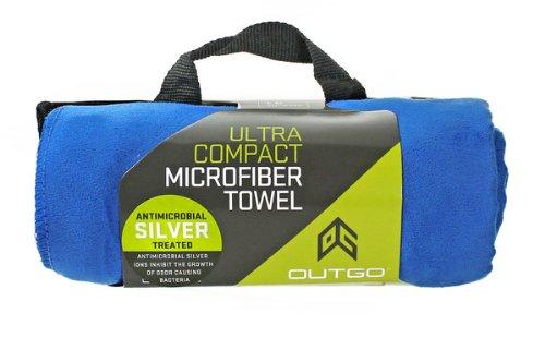 Outgo Ultra Compact Microfiber Towel Cobalt Blue, X-Large
