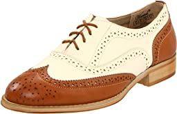 Wanted Shoes Women\'s Babe Oxford, Tan/Natural, 8 M US