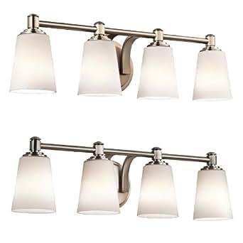Kichler 45456 Quincy 26 5 Wide 4 Light Bathroom Vanity Light