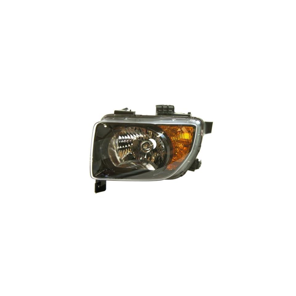 Genuine Honda Parts 33151 SCV A21 Driver Side Headlight Lens/Housing