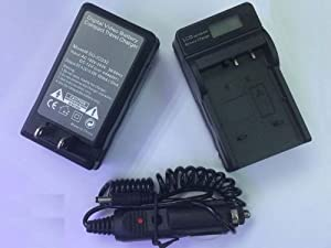 KLIC-7003 Battery Charger with LCD display for GE A830 E1030 E1035 E1040 E1050 Digital Camera NEW