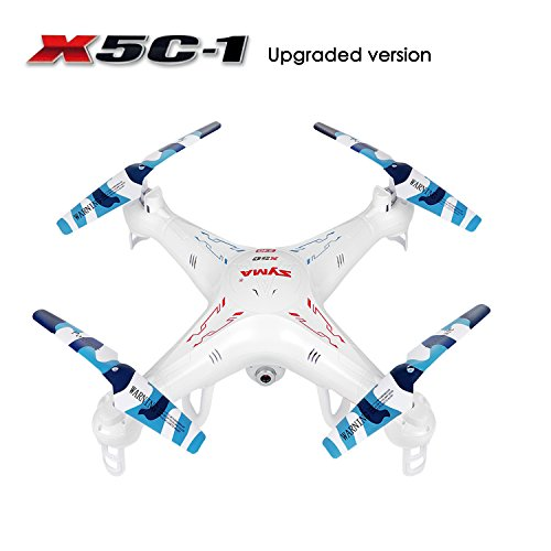RC Quadcopter, Potensic® Upgraded X5C-1 Syma Explorer 2.4GHz 6 Axis Gyro 4CH RC Quadcopter with 2 Megapixels Camera