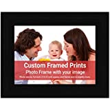 Averprint Photo Frame Personalized Picture Frame With Custom Photo / Your Image Print 7x5 Inch (18x13 Cm Framed)