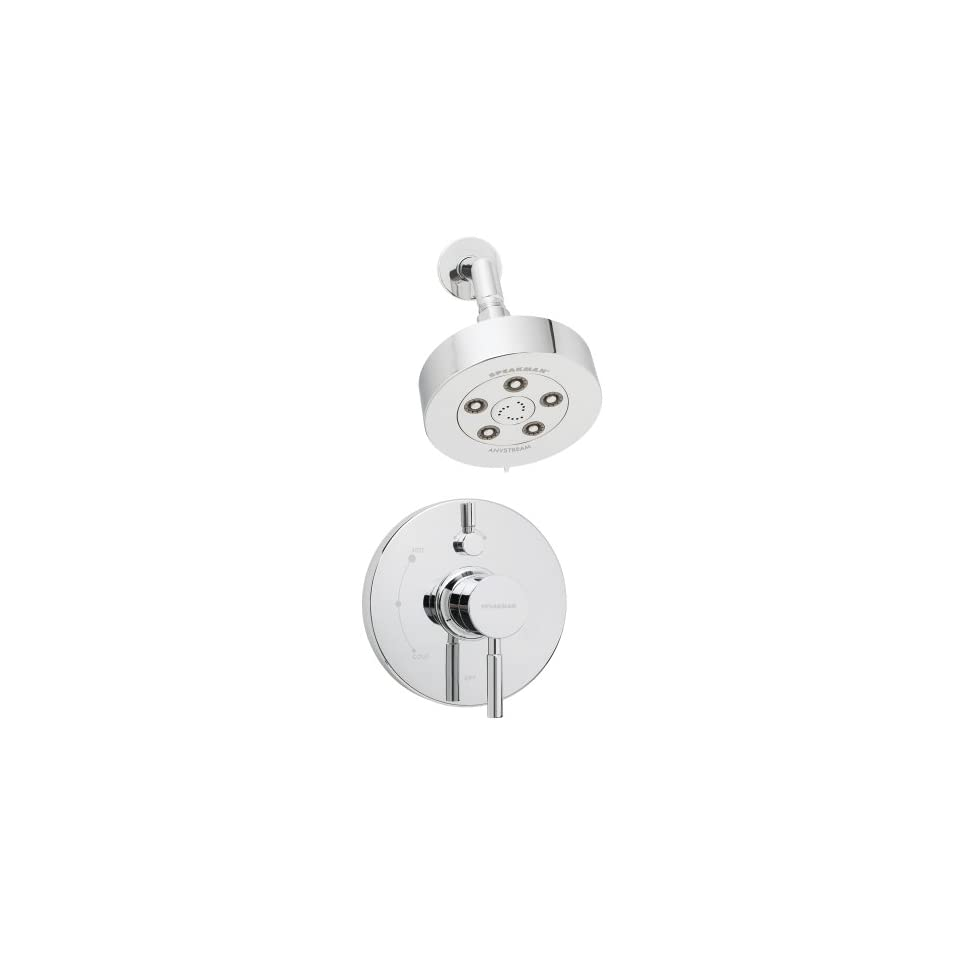Speakman SM 1410 P Neo Pressure Balance Valve and Trim in Shower Combination in Polished Chrome