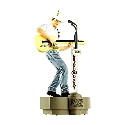 Carlton Cards Heirloom Brad Paisley Musical Country Christmas Ornament