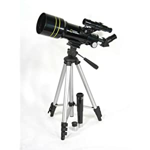 Telescope; Brashear (JA), Astronomical Refracting, Brass, Star