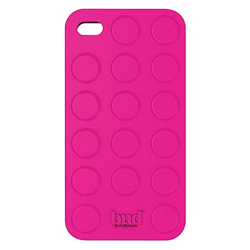 PT Bud Case for Iphone 4/ 4s Bump Silicone (Pink)