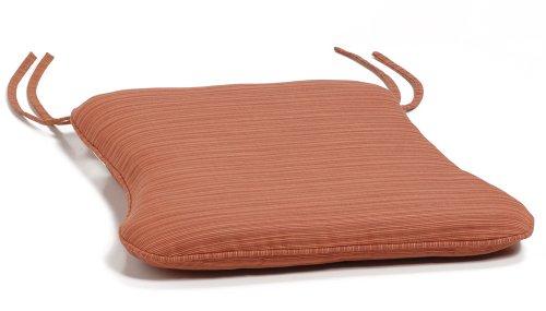 Warwick Stacking Chair Cushion - Dupione Papaya - Buy Warwick Stacking Chair Cushion - Dupione Papaya - Purchase Warwick Stacking Chair Cushion - Dupione Papaya (Oxford Garden, Home & Garden,Categories,Patio Lawn & Garden,Patio Furniture,Cushions Covers & Pillows,Patio Furniture Cushions)