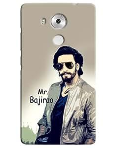 Omnam Mr Bajirao Printed On Ranbir Singh Cartoon Designer Back Cover Case For Huawei Honor Mate 8