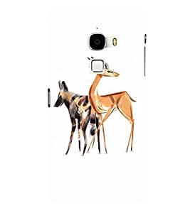 EPICCASE Deer dog Mobile Back Case Cover For LeTV Le Max (Designer Case)