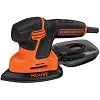 Black & Decker Corded 1 Speed Mouse Detail Sander with Dust Collection