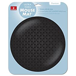 Ultra Thin Mousepad-black
