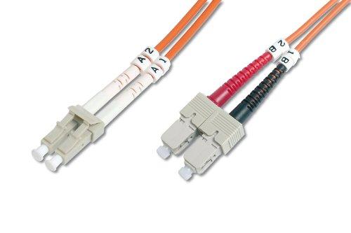 Diverse Netzwerk LWL Duplex Patchkabel 1m