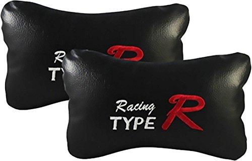 Auto Car Winner Type R Black Car Neck Rest Cushion for Ford Figo Aspire