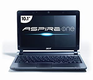 Acer AOD250-1633 10.1-Inch Black Netbook - Up to 9 Hours of Battery Life (Windows 7 Starter)