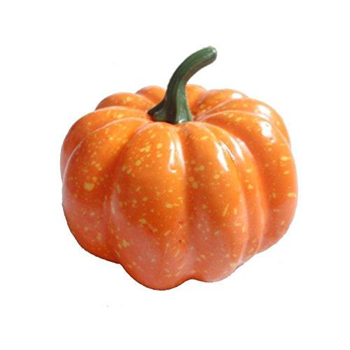 ultnice-12pcs-artificial-pumpkins-decoration-fall-harvest-mini-pumpkins-yellow