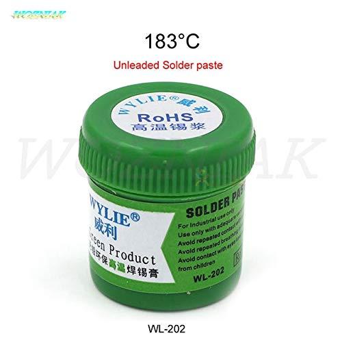 Jammas solder paste for iphone Mobile phone planting tin Low temperature 138 degrees Tin planting Solder repair - (Color: wl-202) (Color: wl-202)