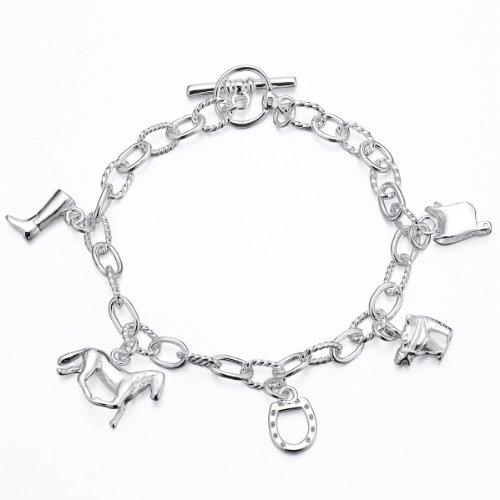 gemslady-sterlingsilber-925-plattiertes-armband-mit-verschiedenen-anhanger-in-bezug-auf-pferden