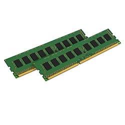 Kingston ValueRAM 8GB Kit (2x4GB) 1600MHz DDR3L Non-ECC CL11 DIMM 1.35V KVR16LN11K2/8