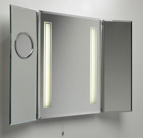 miroir salle de bain lumineux avec prise de courant. Black Bedroom Furniture Sets. Home Design Ideas