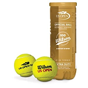 Buy 100 Year US Open Extra Duty Tennis Ball Can by Wilson