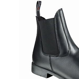 HZ Adt Synth Jodhpur Boots - Size:4 Color:Black