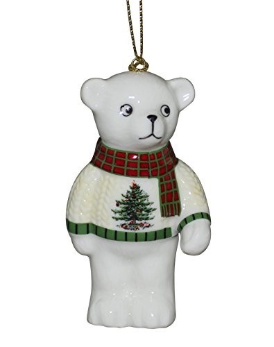 Spode Teddy Bear Tree Ornament