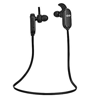 "#1 Bluetooth Earbuds for Fitness/Workouts by Audiopureâ""¢. Premium Sweatproof Wireless Earbuds w/ Bluetooth 4.0+EDR & BassXâ""¢ Enhanced Audio. The Best Bluetooth Headphones for Sport, Gym & Running + BONUS **FREE Carry Bag** - Noise Cancelling Microphone,"