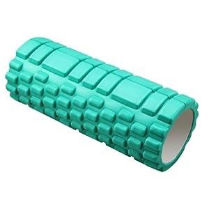 Deep Tissue Massage Foam Roller Sports Medicine Roller (L33*D14CM, Green) by Panda Superstore