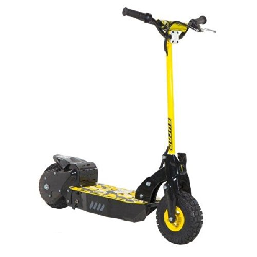 Dynacraft Surge 36v Off Road Electric Scooter Yellow