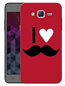 """Humor Gang I Love Mooch - Red Printed Designer Mobile Back Cover For """"Samsung Galaxy Grand 2"""" (3D, Matte, Premium Quality Snap On Case)"""