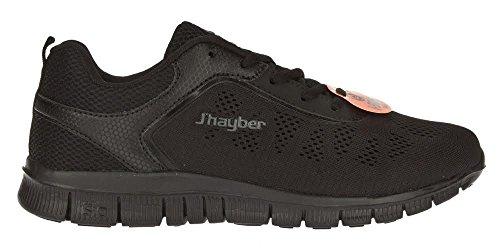 J'hayber, Sneaker uomo nero Size: 44