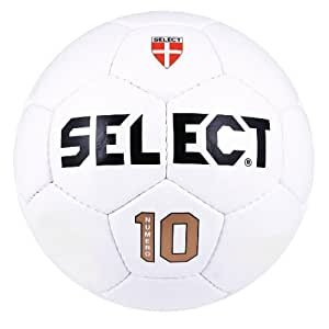 SELECT 02-740-0 Numero 10 Soccer Ball (White, Size 4)