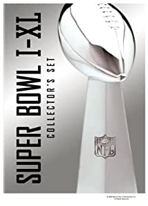 NFL Super Bowl I-XL Collector's Set