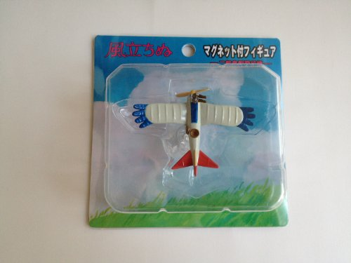 'KAZE TACHINU' The Wind Rises' Jiro's Birds Type Airplane Figure with magnet