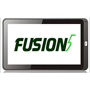 "A1CS FUSION5 Tablet PC - 10.1"" Screen - Android 4.0 ICS - 1GB RAM - 8GB STORAGE - Capacitive 5-Point Touch Screen - Supports BBC Iplayer."