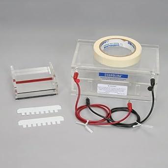 how to make wells in gel electrophoresis