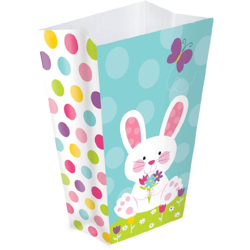 Amscan Easter Paper Bag Bunny 6 Pk
