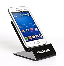 Riona Universal Acrylic Mobile Holder / Stand - MobiHold A4S Black MH-A4S-B