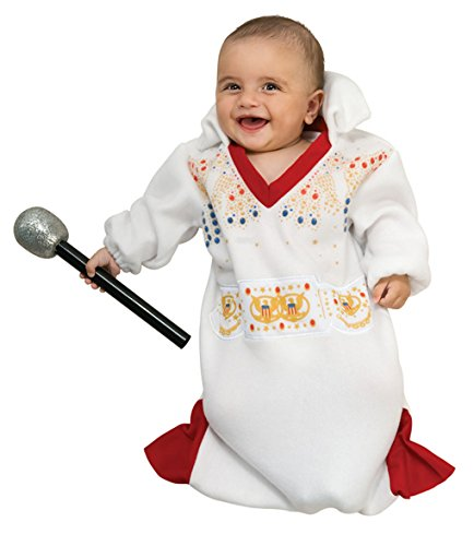 Elvis Presley Baby Bunting Costume - The King - Thank You Thank you Very Much (Elvis Presley Costumes For Kids)