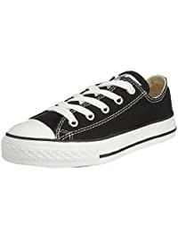 Converse Unisex Baby Infant Chuck Taylor All Stars Ox (Toddler) - Black - 2