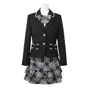 女の子の卒業スーツ (小学生 子供服 フォーマル 卒業式) 200611508