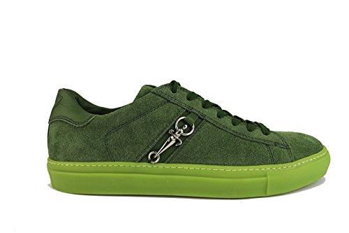 CESARE PACIOTTI sneakers uomo 41 EU verde camoscio AH655