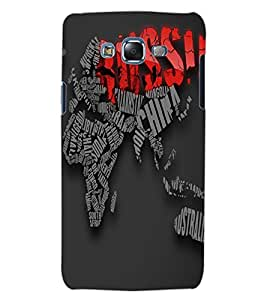 ColourCraft Typography Design Back Case Cover for SAMSUNG GALAXY J5