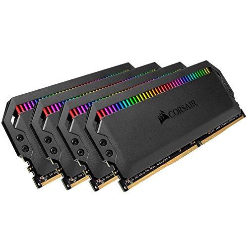 Corsair Dominator Platinum RGB 32GB (4x8GB) DDR4 3466 (PC4-27700) C16 1.35V Desktop Memory - Black (Tamaño: 32 Gb)