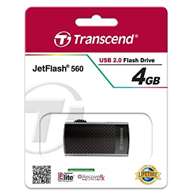 Transcend JetFlash 560 4GB USB 2.0 Pen Drive