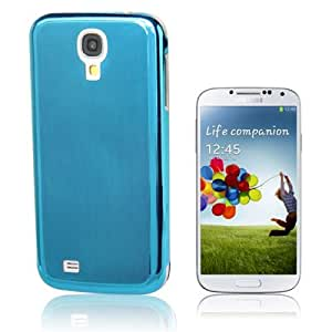 Brushed Texture Metal Case for Samsung Galaxy S4 / i9500 (Blue)