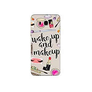 Samsung galaxy J5(2016) nkt07 r (24) Mobile Case by Mott2 - WAKE UP AND MAKE UP (Limited Time Offers,Please Check the Details Below)